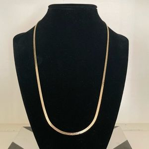 """20"""" LINK 18 K GP CHAIN NECKLACE"""